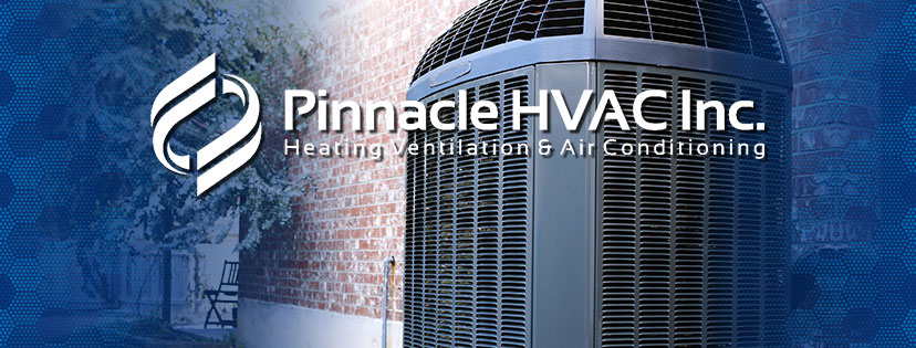 MA Residential HVAC system with Pinnacle HVAC logo